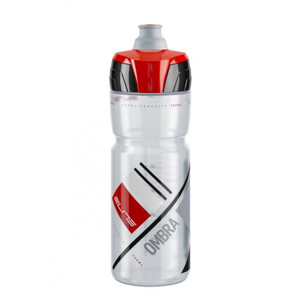 Fľaša Elite OMBRA cyklistická 550 ml, červená