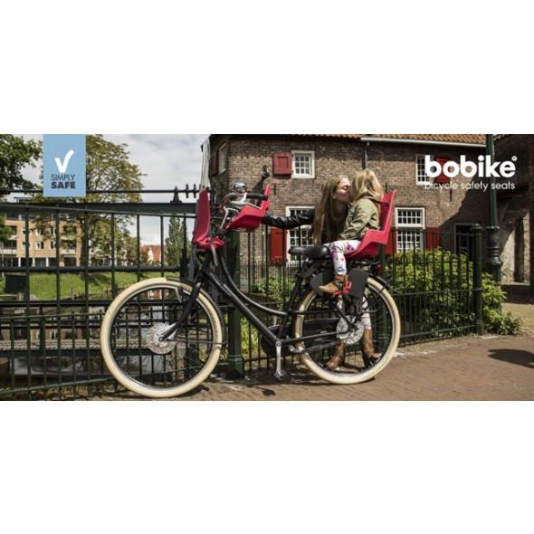 Zadná detská sedačka BOBIKE EXCLUSIVE maxi, urban black