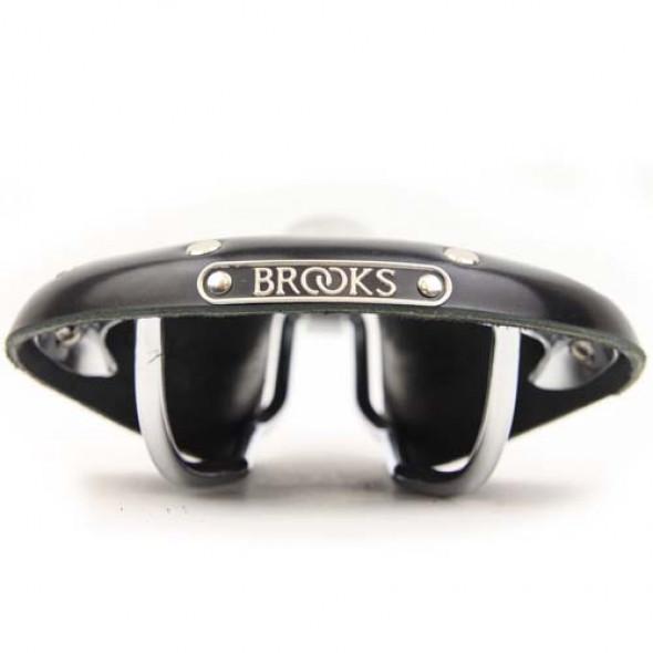 BROOKS Team Pro Classic - koženné sedlo čierne