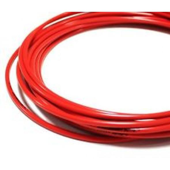 Brzdový bowden, červený