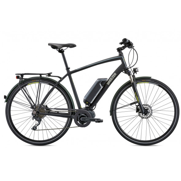 Bicykel Breezer Greenway+ 2018