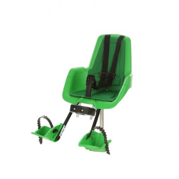 Predná detská sedačka BOBIKE mini classic, zelená