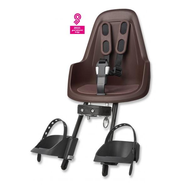 Predná detská sedačka BOBIKE mini one, kávovo-hnedá
