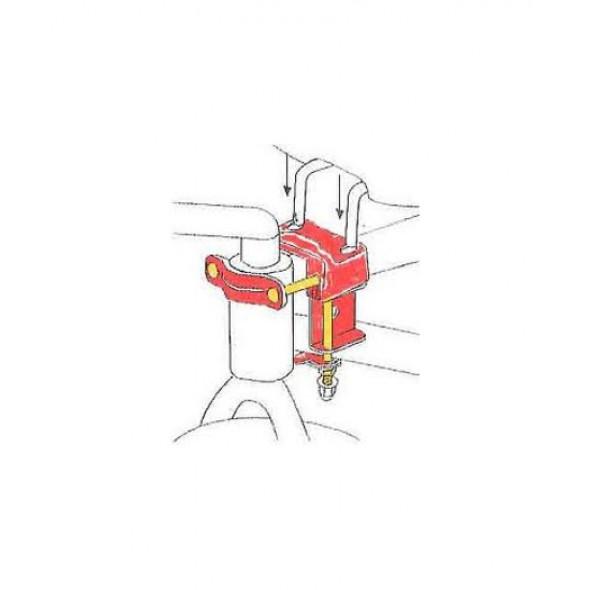 Rámový držiak sedačky BOBIKE mini