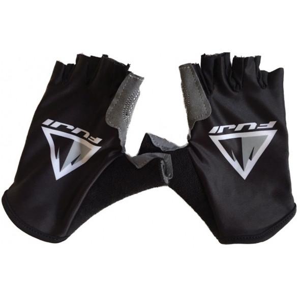 Cyklistické rukavice FUJI, čierne