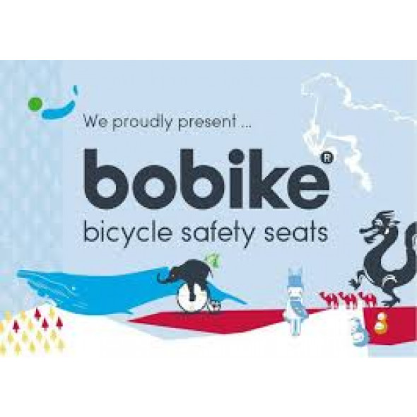 Predná detská sedačka BOBIKE mini one, hnedá