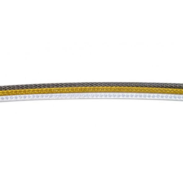 Brzdový pletený bowden, zlatý