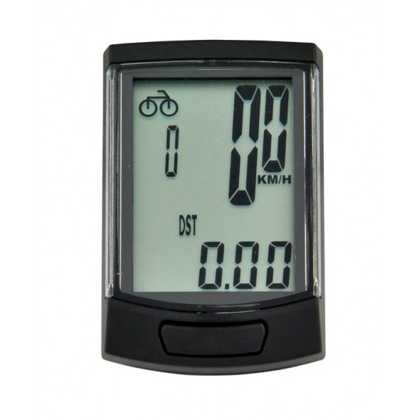 Tachometer Longus BIN14, 14 funkciový, čierny