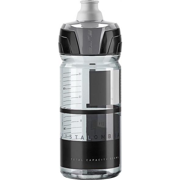 Fľaša Elite CRYSTAL OMBRA cyklistická 550 ml