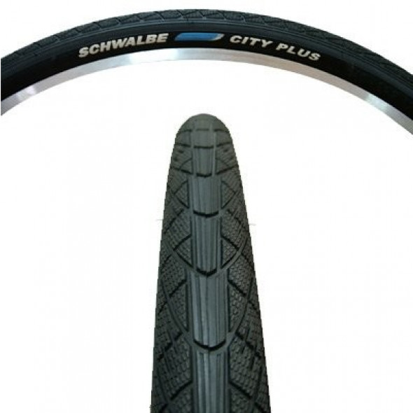 Plášť Schwalbe City Plus 40-622, sivý