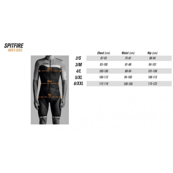Cyklistické nohavice Bioracer Spitfire Bibshort
