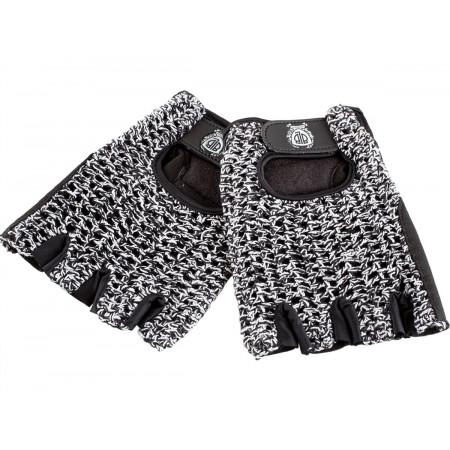 BLB rukavičky čierno-biele L