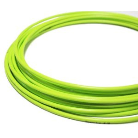 Brzdový bowden, zelený