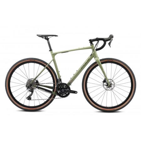 Gravel bicykel Fuji JARI 1.1 55,5cm 2021 Khaki Green