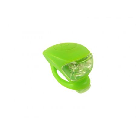 """Zadná blikačka """"žaba"""" zelená 2-diodová"""