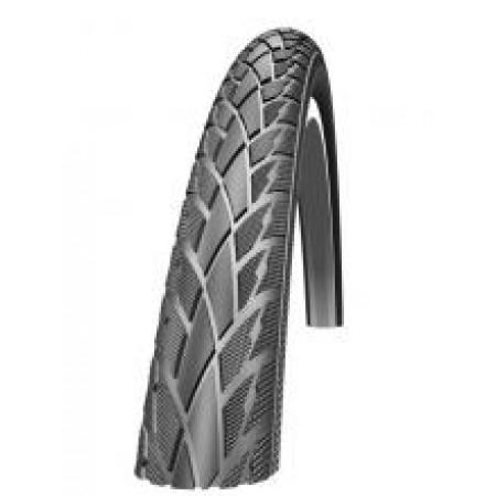 Plášť Schwalbe Road Cruiser 47-622, čierny+reflexný pásik