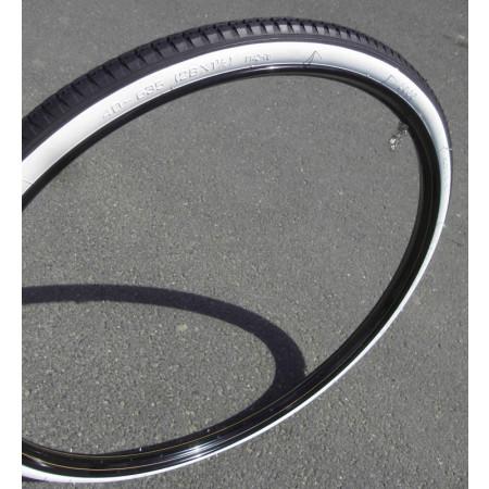 Plášť Classic Cycle 28x1 1/2 (40-635), biely bok
