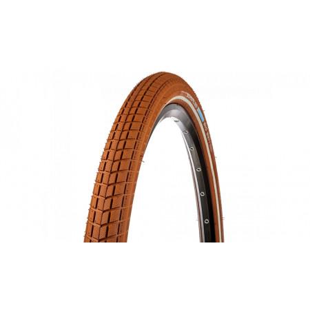Plášť Schwalbe Big Ben 50-622, hnedý+reflex pásik