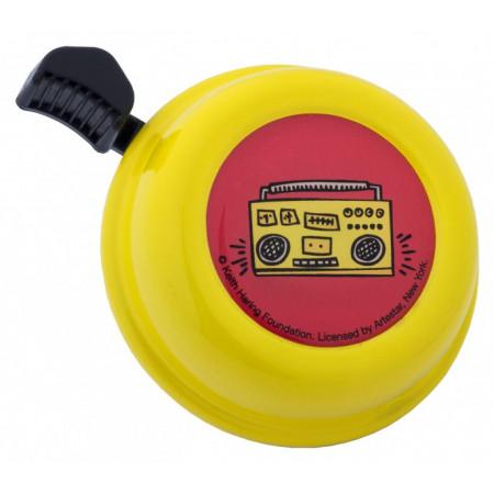 Zvonček Liix Keith Haring Radio, žltý