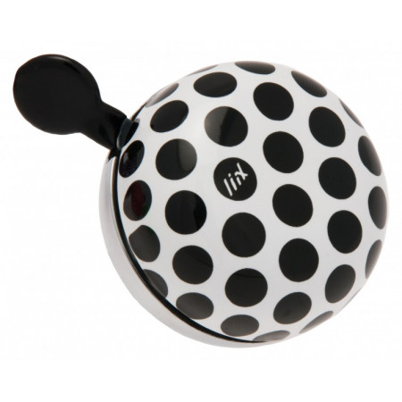 Zvonček Liix - Mini Ding Dong Polka Big Dots Black