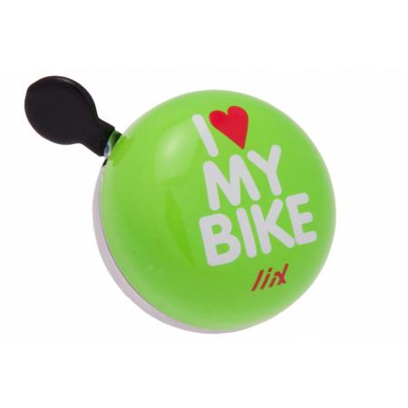 Zvonček Liix Ding Dong Mini I love my bike