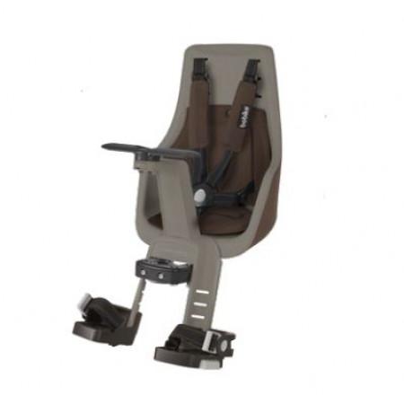 Predná detská sedačka BOBIKE EXCLUSIVE mini, kávovo-hnedá