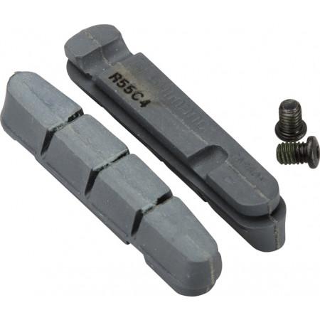 Brzdové gumičky Shimano R55C4 pre karbónové ráfiky