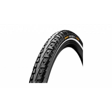Plášť Continental Tourride 32-630, čierny+reflex.pásik