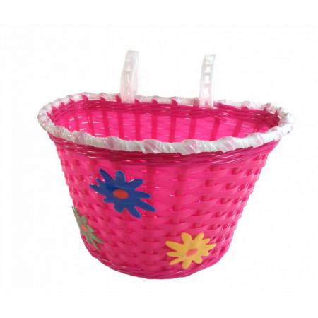 Detský košík Kvetinky