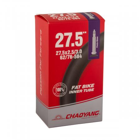 """Duša Chaoyang 27,5"""" x 2,50/3,0 (62/76-584) galuskový ventil 48mm"""