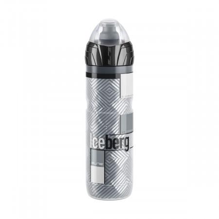 Fľaša ICEBERG Termo, 650ml, šedá