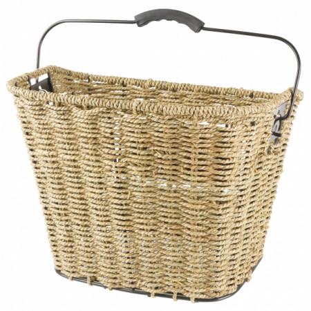 Prútený košík Ocean, pletený, predný s držiakom