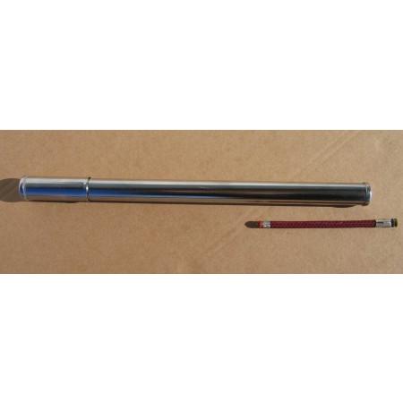 Pumpa kovová chrómová, 40cm