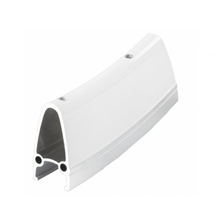 Ráfik CNC, AL 40mm, biely, 622x22, 32 dier
