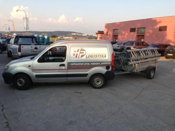 HP logistika preprava  Pecobikes