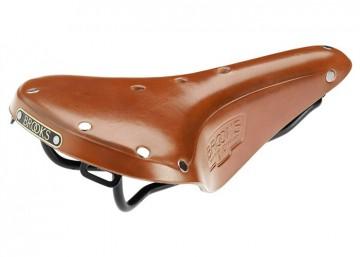 Najdlhšie nepretržite vyrábané sedlo od Brooks. Svetová klasika B17.